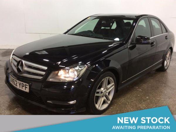 (2012) Mercedes-Benz C Class C220 CDI BlueEFFICIENCY AMG Sport 4dr £850 Of Extras - Bluetooth Connection - Parking Sensors - Aux MP3 Input