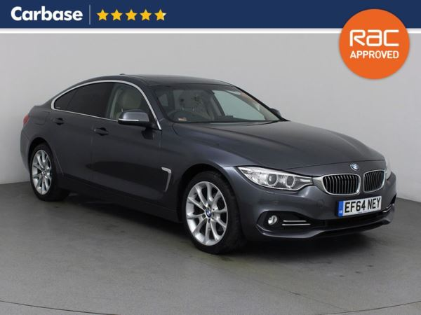 (2015) BMW 4 Series 430d xDrive Luxury 5dr Auto Coupe Satellite Navigation - Luxurious Leather - Bluetooth Connection - Parking Sensors