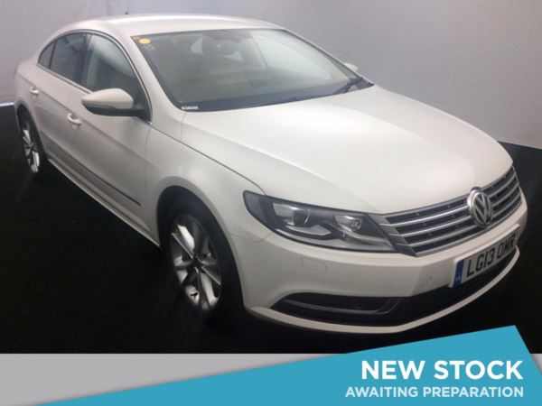 (2013) Volkswagen CC 2.0 TDI BlueMotion Tech 4dr Coupe Satellite Navigation - Luxurious Leather - Bluetooth Connection - £30 Tax