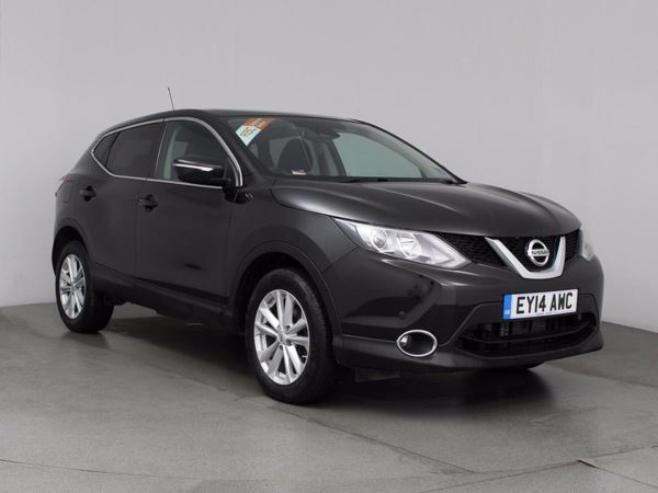 (2014) Nissan Qashqai 1.6 dCi Acenta Premium 5dr Xtronic Panoramic Roof - Bluetooth Connection - £30 Tax - DAB Radio - Rain Sensor