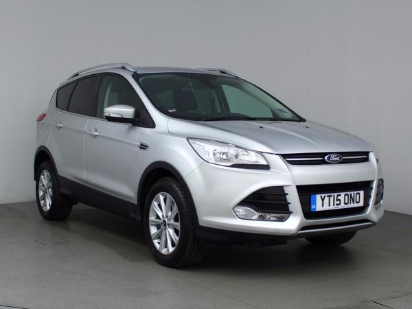 (2015) Ford Kuga 2.0 TDCi 150 Titanium 5dr 2WD - SUV 5 Seats £895 Of Extras - Bluetooth Connection - DAB Radio - Aux MP3 Input