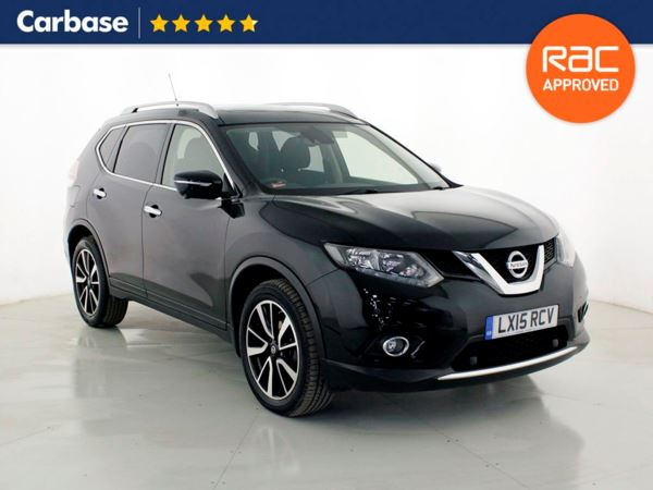 (2015) Nissan X-Trail 1.6 dCi N-Tec 5dr Xtronic - SUV 5 Seats Panoramic Roof - Parking Sensors - Aux MP3 Input - USB Connection