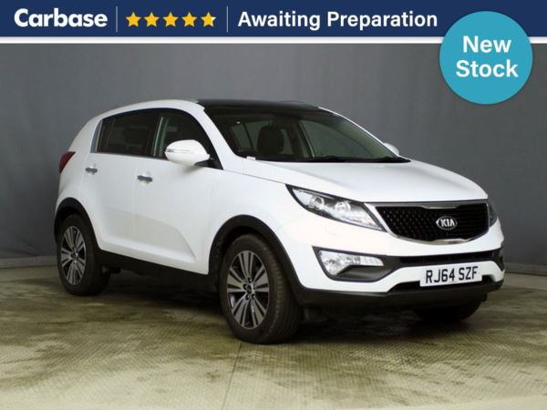 (2014) Kia Sportage 1.7 CRDi ISG 3 5dr - SUV 5 Seats Panoramic Roof - Satellite Navigation - Luxurious Leather - Bluetooth Connection