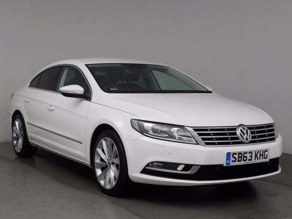 (2013) Volkswagen CC 2.0 TDI BlueMotion Tech GT 4dr Satellite Navigation - Luxurious Leather - Bluetooth Connection - £30 Tax