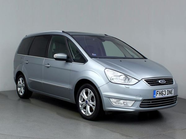 (2014) Ford Galaxy 2.0 TDCi 140 Titanium X 5dr - MPV 7 SEATS £820 Of Extras - Panoramic Roof - Luxurious Leather - Bluetooth Connection
