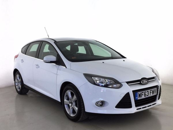 (2014) Ford Focus 1.6 TDCi 115 Zetec Navigator 5dr Satellite Navigation - Bluetooth Connection - £20 Tax - DAB Radio - Aux MP3 Input - USB Connection