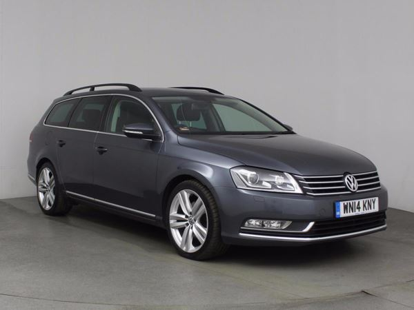 (2014) Volkswagen Passat 2.0 TDI Bluemotion Tech Executive Style 5dr Estate £1045 Of Extras - Satellite Navigation - Luxurious Leather - Bluetooth Connection