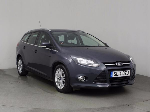 (2014) Ford Focus 1.6 TDCi Titanium Navigator ECOnetic 5dr Satellite Navigation - Bluetooth Connection - Zero Tax - Parking Sensors