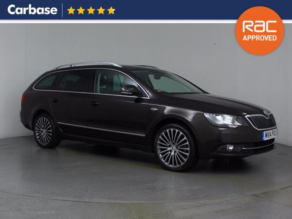 (2014) Skoda Superb 2.0 TDI CR 140 Elegance 4X4 5dr Estate £3355 Of Extras - Panoramic Roof - Satellite Navigation - Luxurious Leather