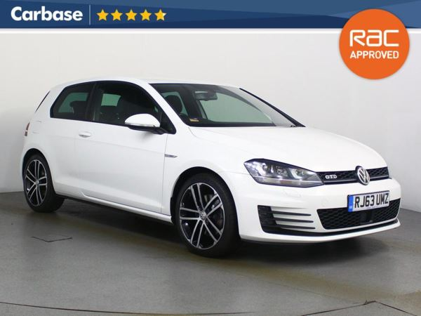 (2014) Volkswagen Golf 2.0 TDI GTD 3dr £1105 Of Extras - Satellite Navigation - Bluetooth Connection - Parking Sensors - DAB Radio