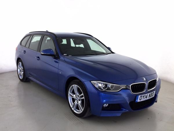 (2014) BMW 3 Series 320d xDrive M Sport 5dr Step Auto Touring £4885 Of Extras - Satellite Navigation - Luxurious Leather - Bluetooth Connection