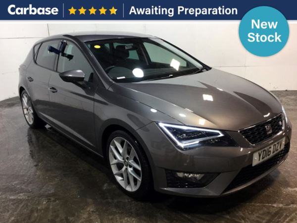 (2016) SEAT Leon 2.0 TDI 184 FR 5dr [Technology Pack] Satellite Navigation - Bluetooth Connection - £30 Tax - Parking Sensors - DAB Radio - Aux MP3 Input