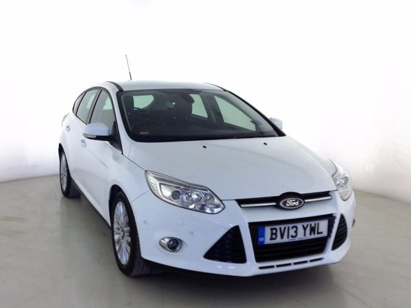 (2013) Ford Focus 1.0 125 EcoBoost Titanium X 5dr Bluetooth Connection - £30 Tax - Parking Sensors - DAB Radio - Aux MP3 Input