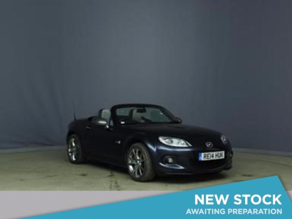 (2014) Mazda MX-5 1.8i Sport Venture Edition 2dr Satellite Navigation - Luxurious Leather - Bluetooth Connection