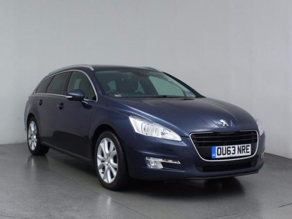 (2013) Peugeot 508 1.6 e-HDi 115 Active 5dr EGC [Sat Nav] Estate Panoramic Roof - Satellite Navigation - Bluetooth Connection - £20 Tax