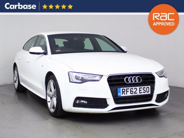 (2013) Audi A5 2.0 TDI 177 S Line 5dr Multitronic 5 Seat 5dr Sportback With Paddle Shift Luxurious Leather - Bluetooth Connection - Parking Sensors - Aux MP3 Input