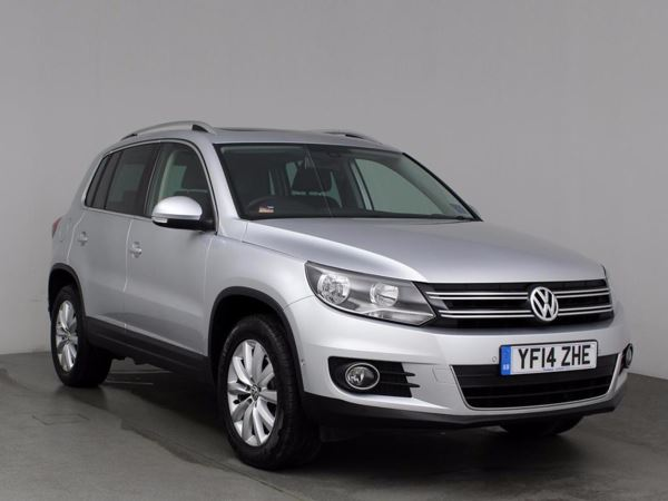 (2014) Volkswagen Tiguan 2.0 TDi BlueMotion Tech Match 5dr - SUV 5 Seats £1725 Of Extras - Panoramic Roof - Satellite Navigation - Bluetooth Connection