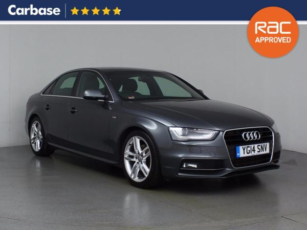 (2014) Audi A4 2.0 TDI 177 S Line 4dr £615 Of Extras - Bluetooth Connection - £30 Tax - Parking Sensors - DAB Radio