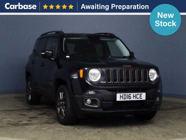 (2016) Jeep Renegade 2.0 Multijet 75th Anniversary 5dr 4WD - SUV 5 Seats My Sky Open Air Roof - Satellite Navigation - Bluetooth Connection - Parking Sensors - Cruise Control - 1 Owner