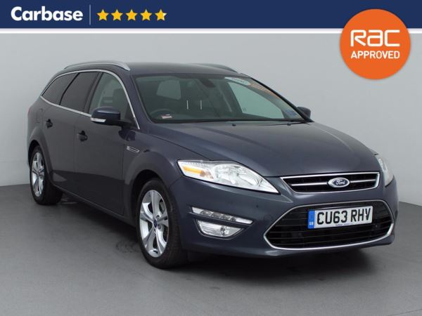 (2013) Ford Mondeo 2.0 TDCi 163 Titanium X Business Edition 5dr Estate £1245 Of Extras - Satellite Navigation - Luxurious Leather - Bluetooth Connection