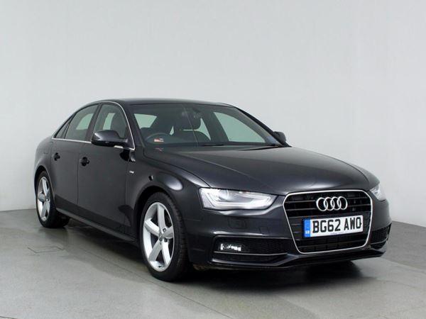 (2012) Audi A4 2.0 TDI 177 S Line 4dr Bluetooth Connection - £30 Tax - Parking Sensors - Aux MP3 Input - Xenon Headlights