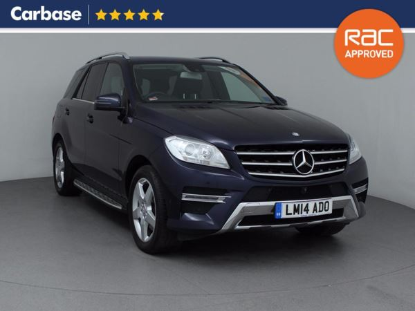 (2014) Mercedes-Benz M Class ML250 CDi BlueTEC SE 5dr Auto With Paddle Shift £10180 Of Extras - Satellite Navigation - Luxurious Leather - Bluetooth Conection
