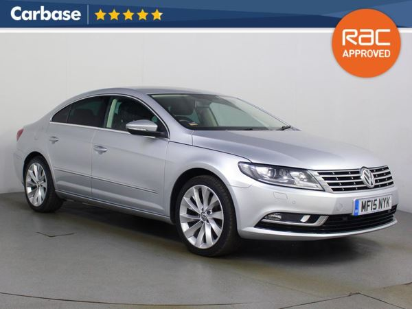 (2015) Volkswagen CC 2.0 TDI BlueMotion Tech GT 4dr £540 Of Extras - Satellite Navigation - Luxurious Leather - Bluetooth Connection - Parking Sensors
