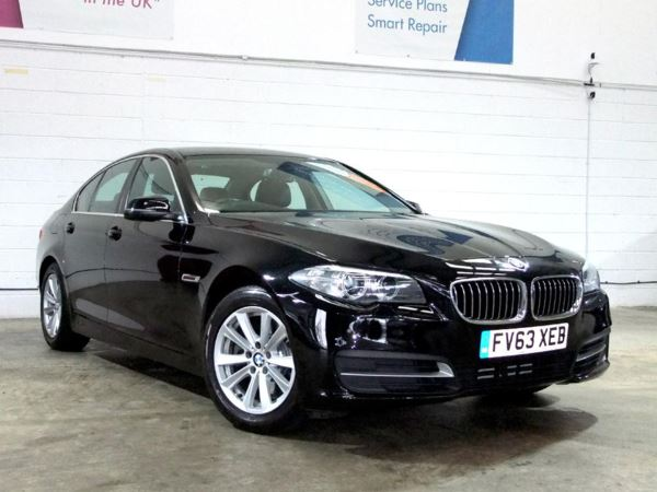 (2013) BMW 5 Series 520d SE 4dr Step Auto [Start Stop] £1550 Of Extras - Satellite Navigation - Luxurious Leather - Bluetooth