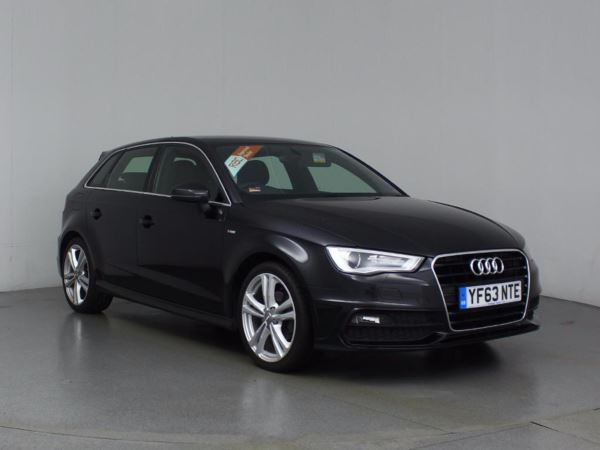 (2013) Audi A3 1.4 TFSI S Line 5dr S Tronic With Paddle Shift Bluetooth Connection - £30 Tax - DAB Radio - Xenon Headlights - Climate Control