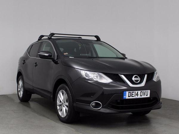 (2014) Nissan Qashqai 1.6 dCi Acenta Premium 5dr - SUV 5 Seats Panoramic Roof - Satellite Navigation - Bluetooth Connection - £30 Tax