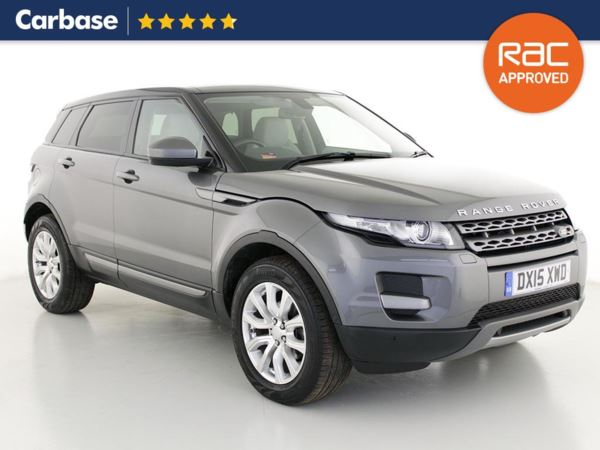 (2015) Land Rover Range Rover Evoque 2.2 SD4 Pure 5dr Auto [Tech Pack] - SUV 5 Seats Panoramic Roof - Satellite Navigation - Luxurious Leather - Bluetooth Connection - Parking Sensors