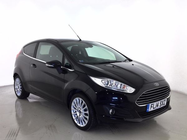 (2014) Ford Fiesta 1.0 EcoBoost Titanium 3dr £995 Of Extras - Bluetooth Connection - Zero Tax - Parking Sensors - DAB Radio