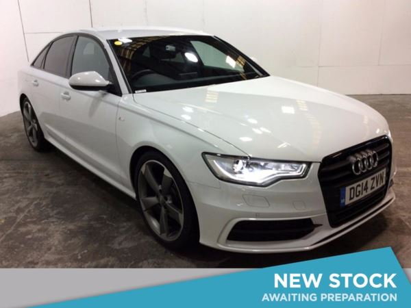 (2014) Audi A6 2.0 TDI Black Edition 4dr £5575 Of Extras - Satellite Navigation - Bluetooth Connection - Parking Sensors