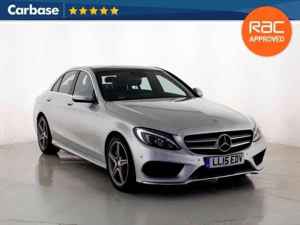 (2015) Mercedes-Benz C Class C300 BlueTEC Hybrid AMG Line Premium Plus 4dr Auto Satellite Navigation - Bluetooth Connection - Rain Sensor - Cruise Control - 1 Owner