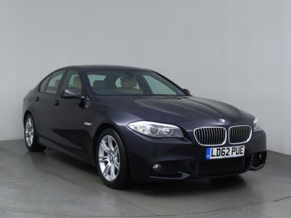 (2012) BMW 5 Series 520d M Sport 4dr Step Auto [Start Stop] £2180 Of Extras - Luxurious Leather - Bluetooth Connection - Parking Sensor