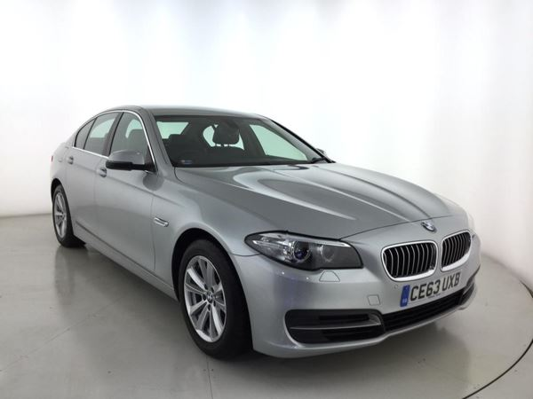 (2013) BMW 5 Series 520d SE 4dr Step Auto [Start Stop] £2225 Of Extras - Satellite Navigation - Luxurious Leather - Bluetooth Connectivity
