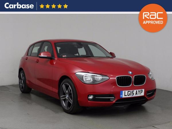 (2015) BMW 1 Series 116d Sport 5dr Bluetooth Connection - £30 Tax - DAB Radio - Aux MP3 Input - USB Connection