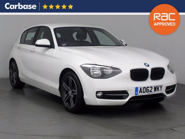 (2012) BMW 1 Series 116d Sport 5dr Bluetooth Connection - £30 Tax - Aux MP3 Input - USB Connection - 6 Speed