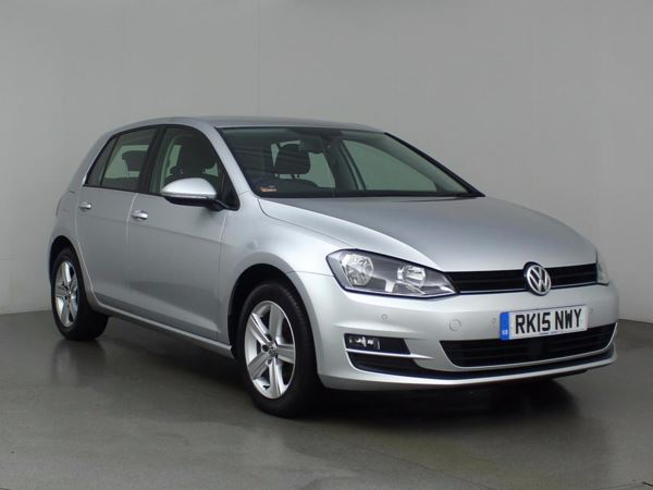 (2015) Volkswagen Golf 1.6 TDI 105 Match 5dr Bluetooth Connection - £20 Tax - DAB Radio - Air Conditioning - 1 Owner