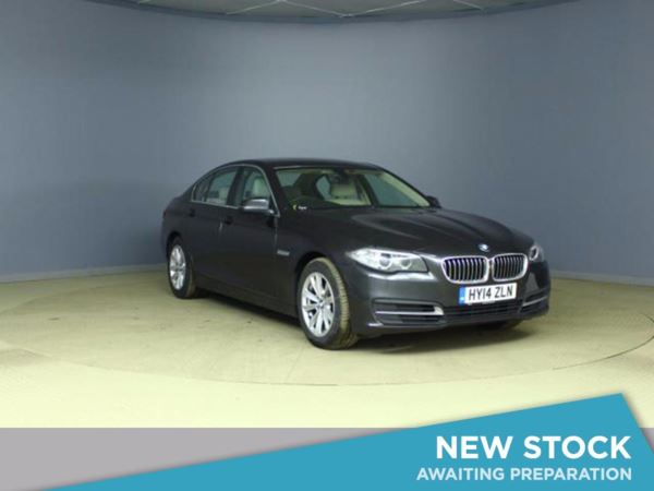 (2014) BMW 5 Series 520d SE 4dr Step Auto [Start Stop] £1805 Of Extras - Satellite Navigation - Luxurious Leather - Bluetooth Connection