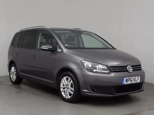 (2012) Volkswagen Touran 1.6 TDI 105 SE 5dr (MPV 7 SEATS) Bluetooth Connection - Parking Sensors - Rain Sensor - Cruise Control