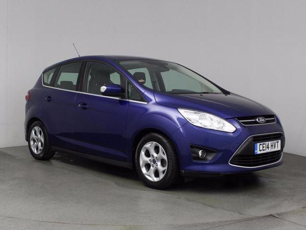 (2014) Ford C-MAX 1.6 TDCi Zetec 5dr Bluetooth Connection - £30 Tax - Parking Sensors - DAB Radio - Aux MP3 Input