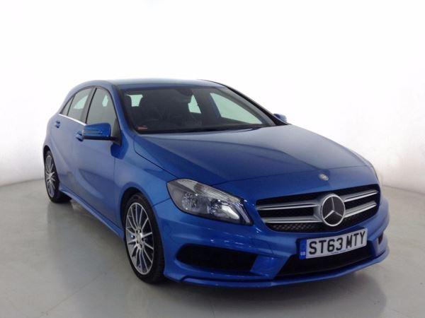 (2014) Mercedes-Benz A Class A180 CDI BlueEFFICIENCY AMG Sport 5dr £870 Of Extras - Bluetooth Connection - £20 Tax - Rain Sensor - Cruise Control