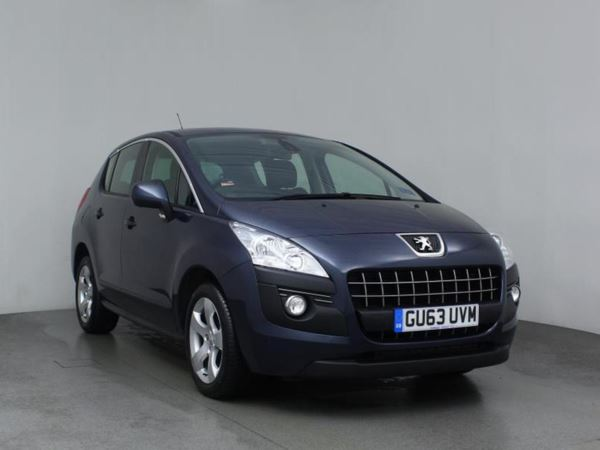 (2013) Peugeot 3008 1.6 HDi Active 5dr - 5 Seat MPV £785 Of Extras - Aux MP3 Input - Cruise Control - 6 Speed - Air Conditioning