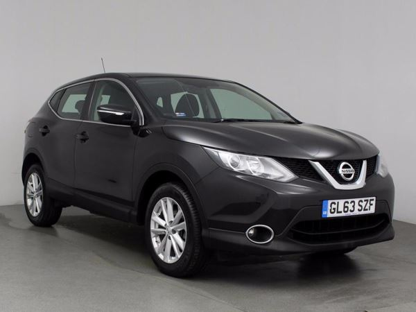 (2014) Nissan Qashqai 1.5 dCi Acenta [Smart Vision Pack] 5dr - SUV 5 SEATS Bluetooth Connection - Zero Tax - Rain Sensor - Cruise Control