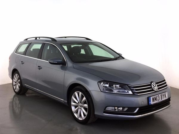 (2013) Volkswagen Passat 2.0 TDI Bluemotion Tech Highline 5dr £770 Of Extras - Satellite Navigation - Bluetooth Connection - £30 Tax