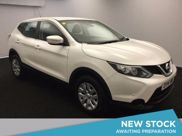 (2014) Nissan Qashqai 1.5 dCi Visia 5dr Bluetooth Connection - Zero Tax - Parking Sensors - Aux MP3 Input - Cruise