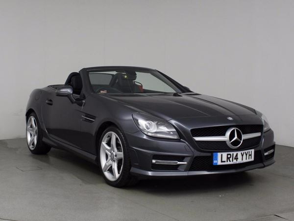 (2014) Mercedes-Benz SLK SLK 250 CDI BlueEFFICIENCY AMG Sport Tip Auto 2dr Convertible £645 Of Extras - Luxurious Leather - Bluetooth Connection - DAB Radio