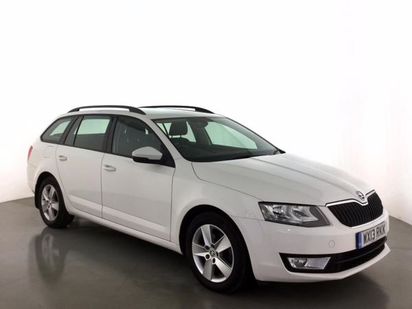 (2013) Skoda Octavia 1.6 TDI CR SE 5dr Estate £1175 Of Extras - Bluetooth Connection - Zero Tax - Parking Sensors - DAB Radio
