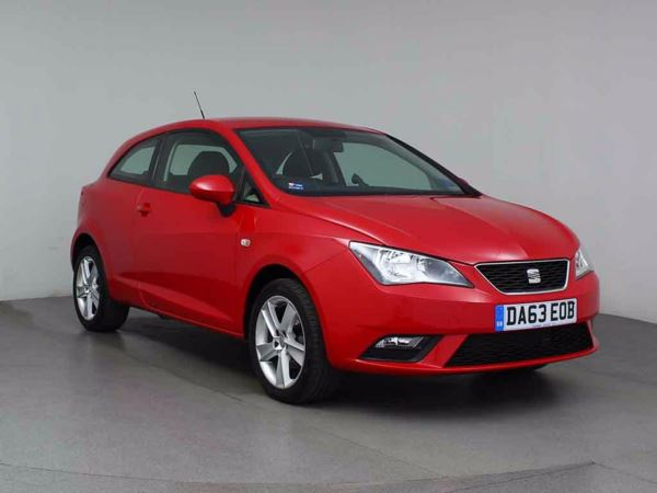 (2013) SEAT Ibiza 1.4 Toca 3dr Bluetooth Connection - Aux MP3 Input - Air Conditioning - Alloys